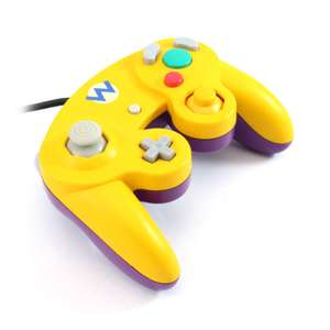 Original Nintendo Controller / Pad #gelb-lila Club Nintendo Wario Edition DOL-003