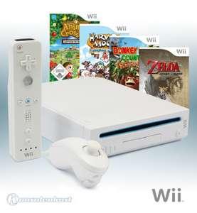 MegaSet: Konsole + Zelda + Donkey Kong + Harvest Moon + Animal Crossing + Original Remote + Zubehör
