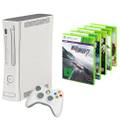 console Core #white + 5 free games + official gamepad + equipment